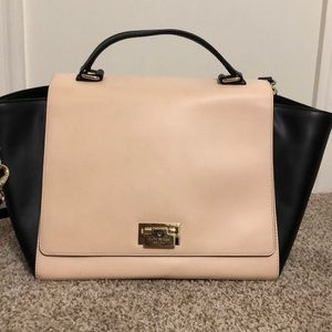 Kate Spade Light Pink and Black Purse